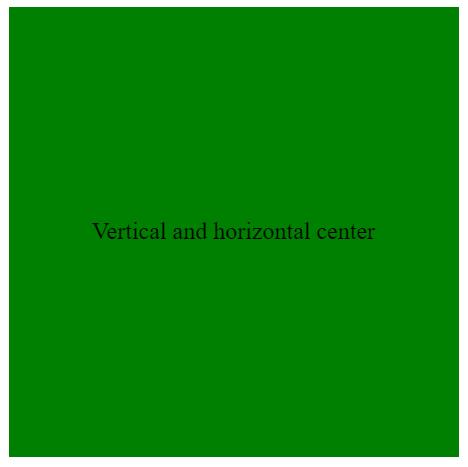 純 CSS 垂直及水平置中 – 超簡單一段搞定